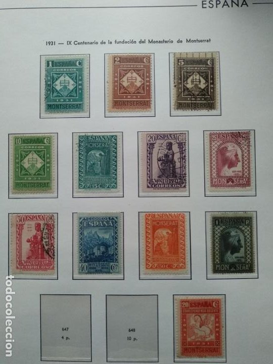 Sellos: Impresionante colección de sellos de España desde el número 1 año 1850 al número 3956 del año 2002 - Foto 44 - 187192891