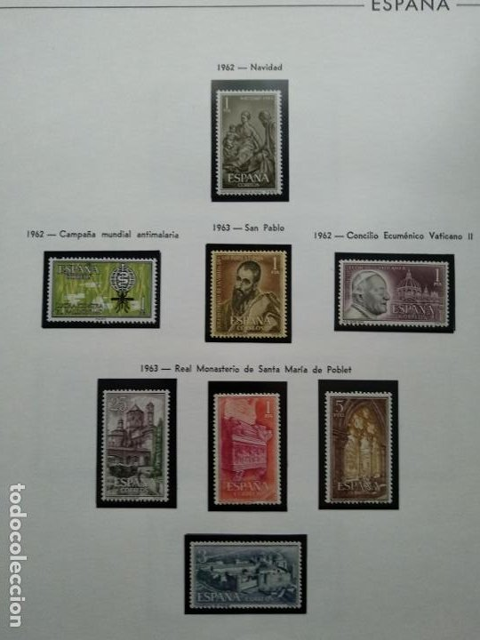 Sellos: Impresionante colección de sellos de España desde el número 1 año 1850 al número 3956 del año 2002 - Foto 96 - 187192891