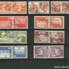 Selos: SUIZA CONJUNTO DE SELLOS USADOS. Lote 187456600