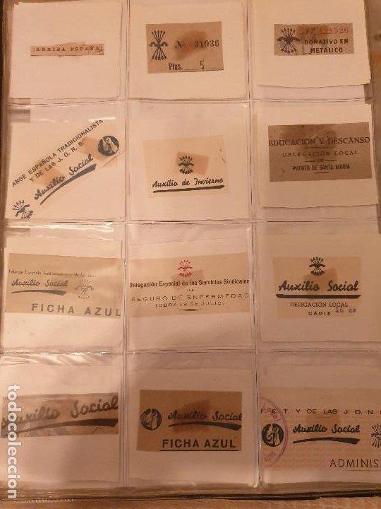 Sellos: COLECCIÓN DE CUÑOS ....VIÑETAS SELLOS ESPAÑA - Foto 23 - 189559531