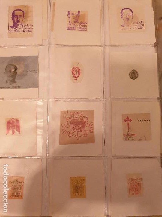 Sellos: COLECCIÓN DE CUÑOS ....VIÑETAS SELLOS ESPAÑA - Foto 25 - 189559531