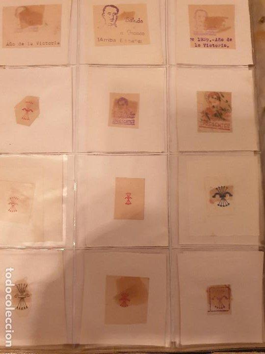 Sellos: COLECCIÓN DE CUÑOS ....VIÑETAS SELLOS ESPAÑA - Foto 27 - 189559531