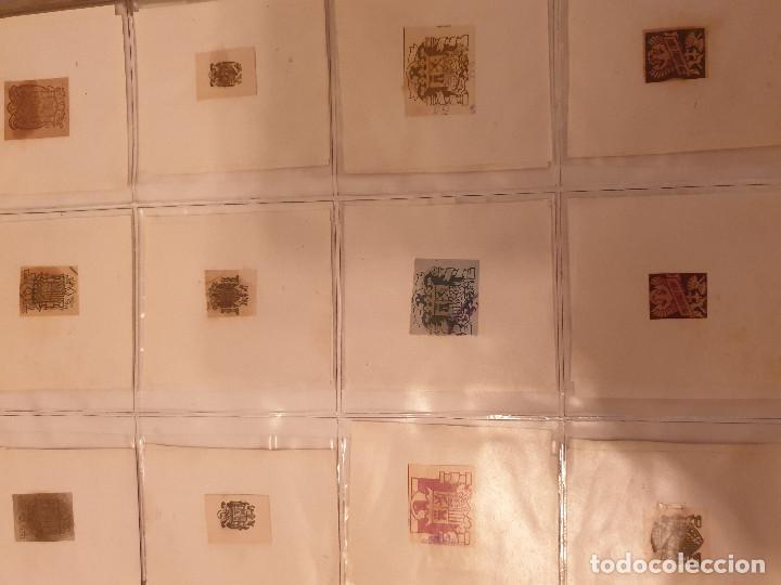 Sellos: COLECCIÓN DE CUÑOS ....VIÑETAS SELLOS ESPAÑA - Foto 33 - 189559531