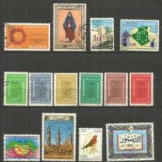Sellos: ARGELIA CONJUNTO DE SELLOS USADOS DE LOS AÑOS 1975-1977. Lote 190867371