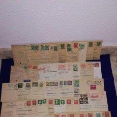 Sellos: GRAN LOTE DE 47 ENTEROS POSTALES DE ALEMANIA, AÑOS 40, 50 Y 60. Lote 191459601