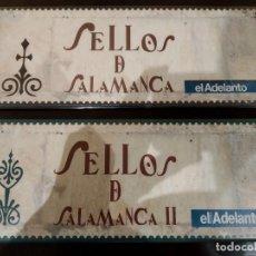 Sellos: SELLOS DE SALAMANCA EN PLATA I Y II -COLECCIÓN COMPLETA DE EL ADELANTO- PERFECTO ESTADO. Lote 192815853