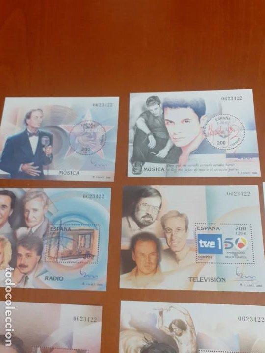 Sellos: lote de 11 bloques nuevos año 2000 cine,Baile,tv, - Foto 3 - 194014180