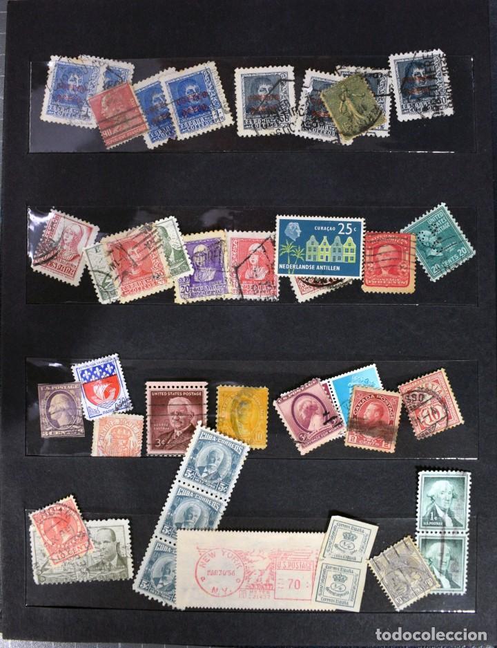 Sellos: LOTE DE 425 SELLOS, MUCHOS CLÁSICOS INTERESANTES. ESPAÑA, CUBA, ESTADOS UNIDOS, FRANCIA, HOLANDA... - Foto 3 - 194145092