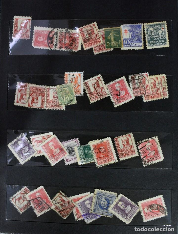 Sellos: LOTE DE 425 SELLOS, MUCHOS CLÁSICOS INTERESANTES. ESPAÑA, CUBA, ESTADOS UNIDOS, FRANCIA, HOLANDA... - Foto 5 - 194145092