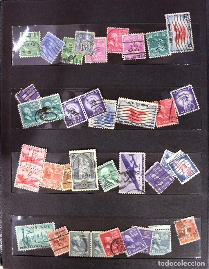 Sellos: LOTE DE 425 SELLOS, MUCHOS CLÁSICOS INTERESANTES. ESPAÑA, CUBA, ESTADOS UNIDOS, FRANCIA, HOLANDA... - Foto 6 - 194145092
