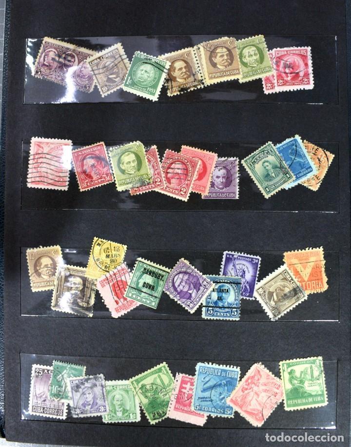 Sellos: LOTE DE 425 SELLOS, MUCHOS CLÁSICOS INTERESANTES. ESPAÑA, CUBA, ESTADOS UNIDOS, FRANCIA, HOLANDA... - Foto 8 - 194145092