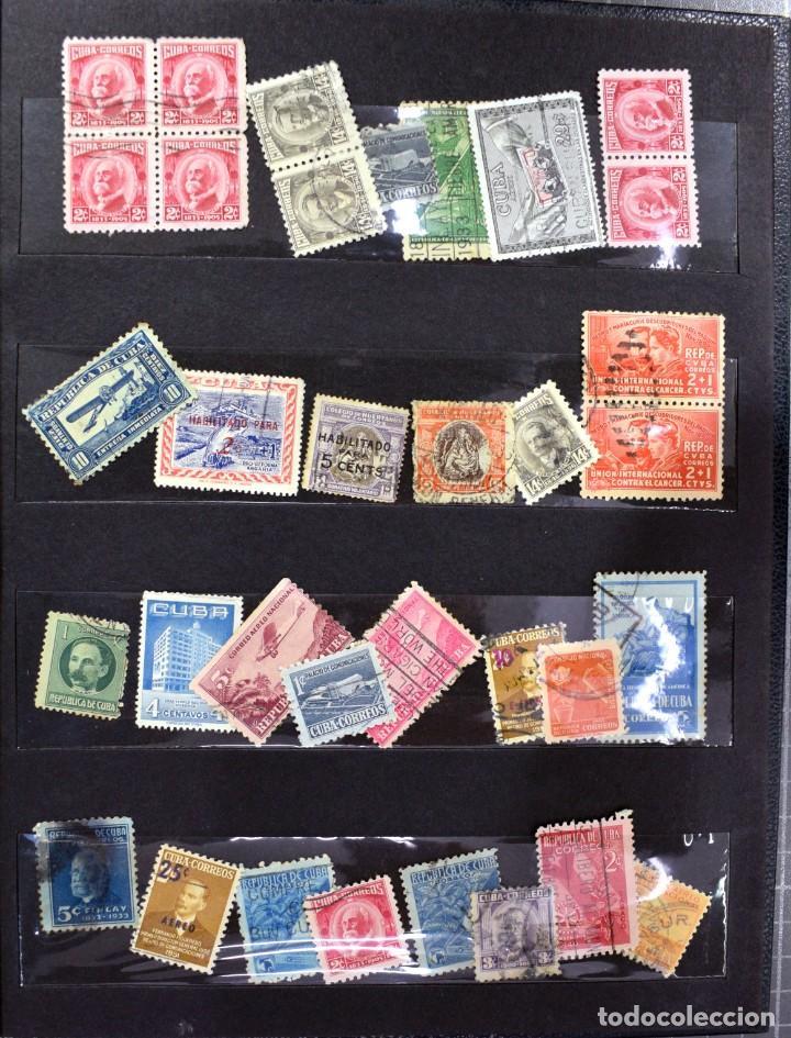 Sellos: LOTE DE 425 SELLOS, MUCHOS CLÁSICOS INTERESANTES. ESPAÑA, CUBA, ESTADOS UNIDOS, FRANCIA, HOLANDA... - Foto 9 - 194145092
