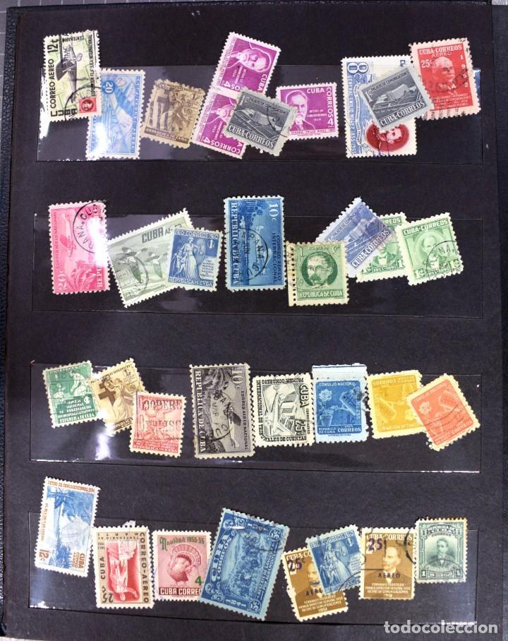 Sellos: LOTE DE 425 SELLOS, MUCHOS CLÁSICOS INTERESANTES. ESPAÑA, CUBA, ESTADOS UNIDOS, FRANCIA, HOLANDA... - Foto 10 - 194145092