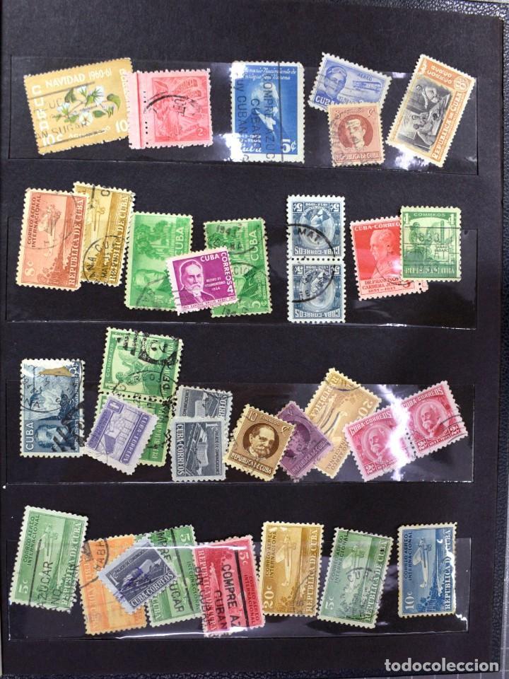 Sellos: LOTE DE 425 SELLOS, MUCHOS CLÁSICOS INTERESANTES. ESPAÑA, CUBA, ESTADOS UNIDOS, FRANCIA, HOLANDA... - Foto 11 - 194145092