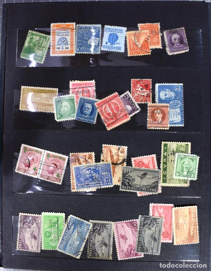 Sellos: LOTE DE 425 SELLOS, MUCHOS CLÁSICOS INTERESANTES. ESPAÑA, CUBA, ESTADOS UNIDOS, FRANCIA, HOLANDA... - Foto 12 - 194145092