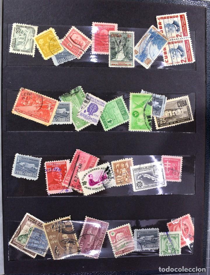 Sellos: LOTE DE 425 SELLOS, MUCHOS CLÁSICOS INTERESANTES. ESPAÑA, CUBA, ESTADOS UNIDOS, FRANCIA, HOLANDA... - Foto 13 - 194145092
