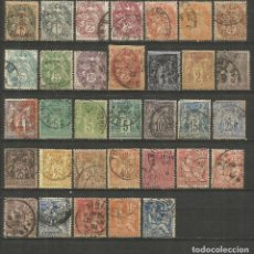 Sellos: FRANCIA CONJUNTO DE SELLOS USADOS ANTIGUOS. Lote 194157153