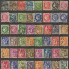 Sellos: FRANCIA CONJUNTO DE SELLOS USADOS ANTIGUOS. Lote 194157225