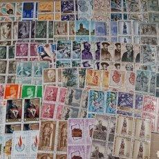 Sellos: MAS DE 250 SELLOSDE ESPAÑA NUEVOS EN BLOQUES DE 4 SELLOS N 69. Lote 194386155
