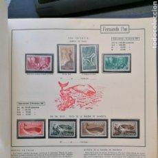 Sellos: COLECCIÓN HOJAS ÁLBUM OLEGARIO IFNI, SÁHARA, RÍO MUNI, FERNANDO POO NUEVO *. Lote 194671070