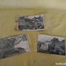 Sellos: LOTE DE TRES SOBRES DE PLÁSTICO CON MATERIAL FILATÉLICO, SELLOS, A IDENTIFICAR. Lote 194881140