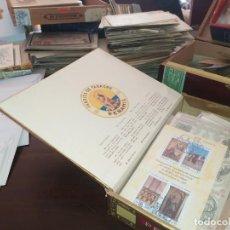 Sellos: MATERIAL FILATELIA,ANTIGUO Y MODERNO SELLOS,SOBRES ETC. Lote 195008257
