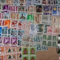 Sellos: 250 SELLOS DE ESPAÑA NUEVOS EN BLOQUES DE 4 SELLOS LOTE R808. Lote 195100841