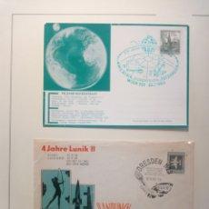Sellos: SOBRES ASTROFILATELIA DE RUSIA. Lote 195101301