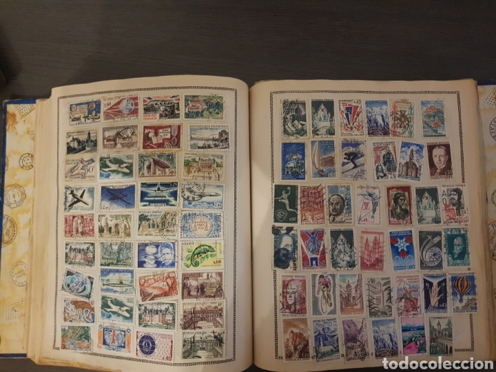 Sellos: Antiguos álbumes de sellos - Foto 4 - 195336107