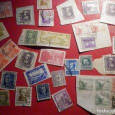 Sellos: LOTE DE SELLOS ESPAÑA, USA, CUBA Y OTROS - USADOS - EN SOBRE 001. Lote 195465056