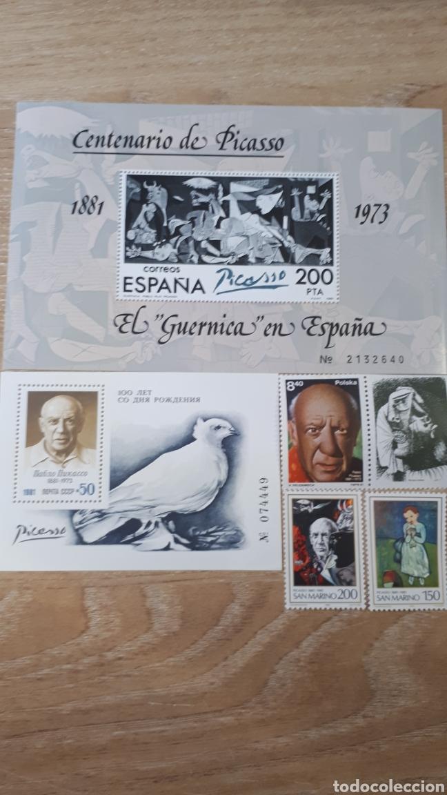 CENTENARUI DE PICASSO SELLOS 1981 C02 (Sellos - Colecciones y Lotes de Conjunto)