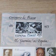 Sellos: CENTENARUI DE PICASSO SELLOS 1981 C02. Lote 197208515
