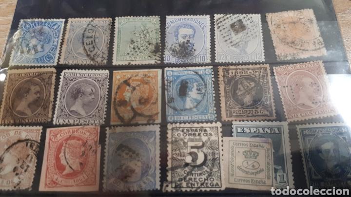 SELLOS CLASICOS USADOS DE ESPAÑA C514 (Sellos - Colecciones y Lotes de Conjunto)