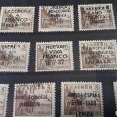 Francobolli: SELLOS PATRIOTICOS DE ESPAÑA C554. Lote 198583450