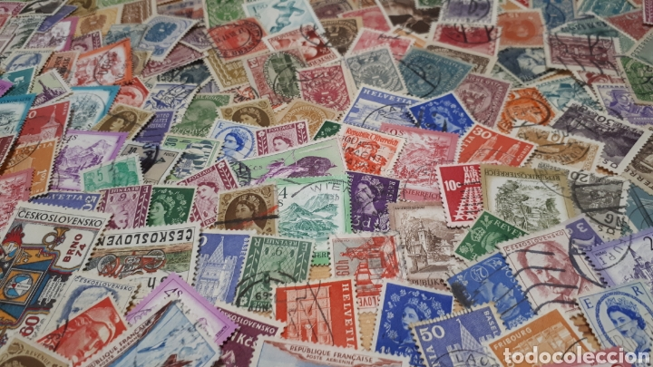 Sellos: 500 SELLOS USADOS DEL MUNDO C636 - Foto 2 - 198644355