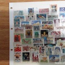 Selos: 50 SELLOS DIFERENTES MUNDIALES. Lote 199732281