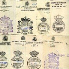 Sellos: LOTE DE 118 FRANQUICIAS DE ESPAÑA DE DISTINTOS DEPARTAMENTOS OFICIALES. Lote 200042350