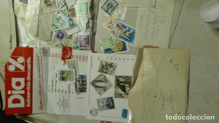 Sellos: Coleccion de miles de sellos del abuelo y mas - Foto 3 - 200878297