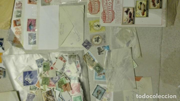 Sellos: Coleccion de miles de sellos del abuelo y mas - Foto 4 - 200878297