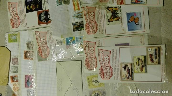 Sellos: Coleccion de miles de sellos del abuelo y mas - Foto 5 - 200878297