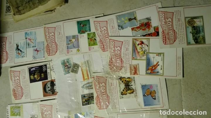 Sellos: Coleccion de miles de sellos del abuelo y mas - Foto 6 - 200878297