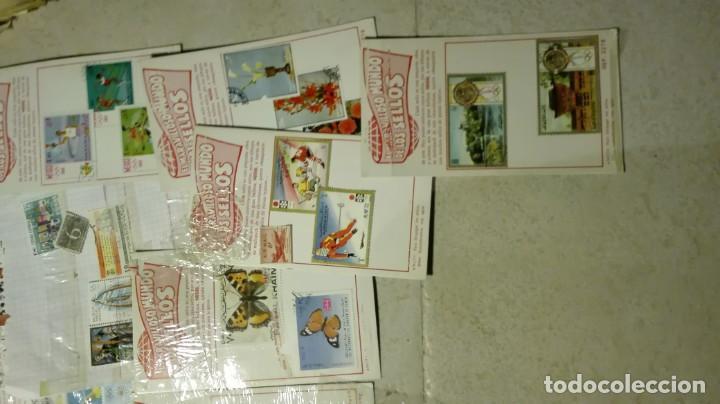 Sellos: Coleccion de miles de sellos del abuelo y mas - Foto 7 - 200878297