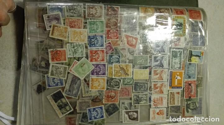 Sellos: Coleccion de miles de sellos del abuelo y mas - Foto 20 - 200878297