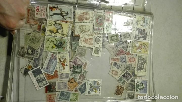 Sellos: Coleccion de miles de sellos del abuelo y mas - Foto 24 - 200878297