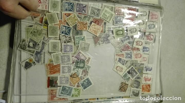 Sellos: Coleccion de miles de sellos del abuelo y mas - Foto 25 - 200878297