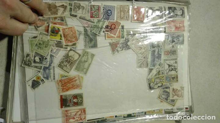 Sellos: Coleccion de miles de sellos del abuelo y mas - Foto 26 - 200878297