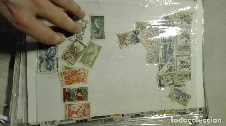 Sellos: Coleccion de miles de sellos del abuelo y mas - Foto 27 - 200878297