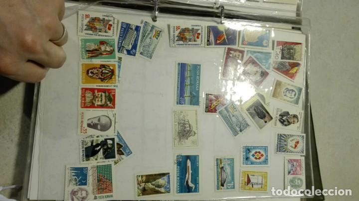 Sellos: Coleccion de miles de sellos del abuelo y mas - Foto 29 - 200878297