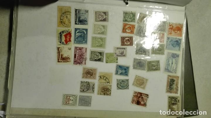 Sellos: Coleccion de miles de sellos del abuelo y mas - Foto 33 - 200878297