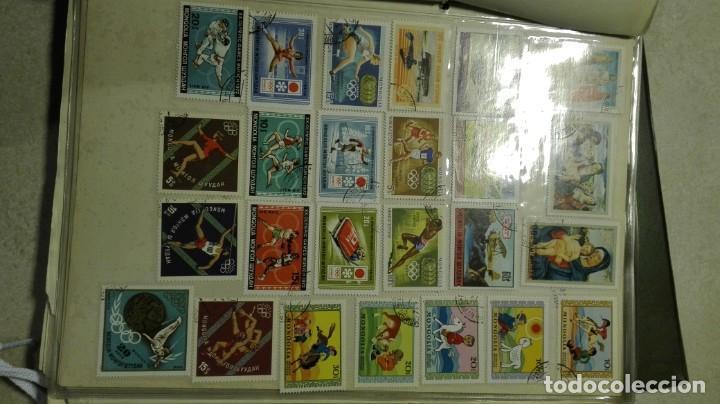 Sellos: Coleccion de miles de sellos del abuelo y mas - Foto 38 - 200878297